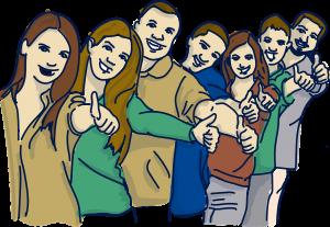 Lehrer Team Comic