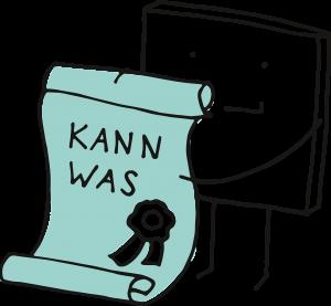 Zeugnis - Kann was - Comic